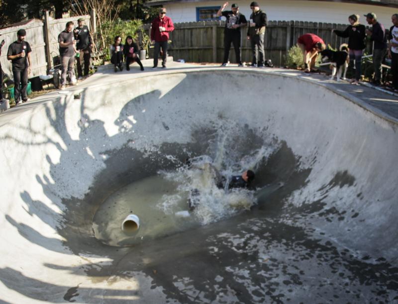 Fully submerged!