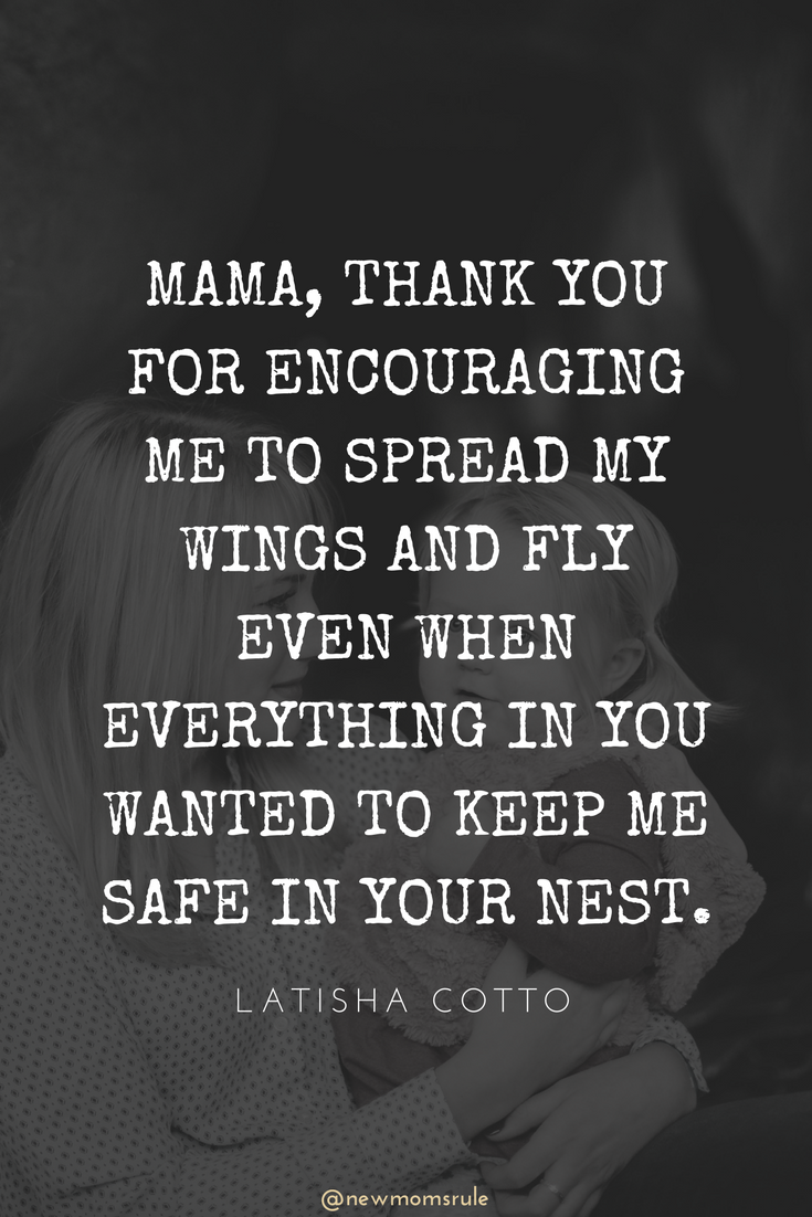 mama, thank you