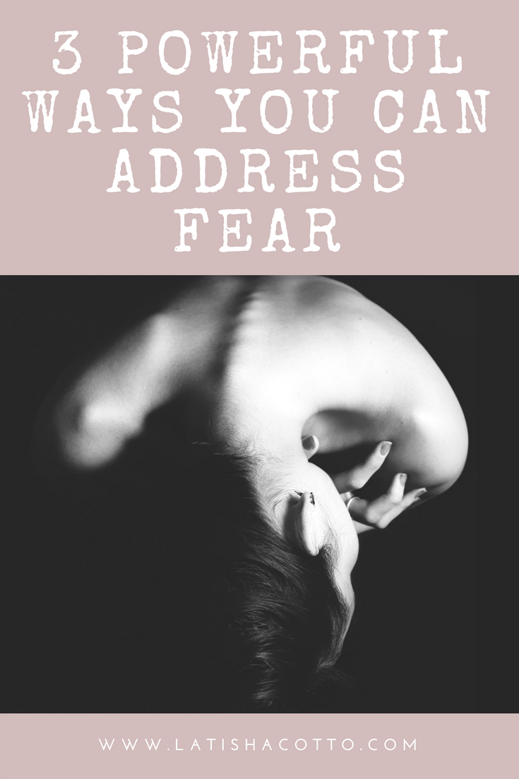 One thing I'm always complimented for is how brave I am (you can thank Mama Terry for that one). In this blog post, I share with you three of my best practices for sitting down with and processing fear.