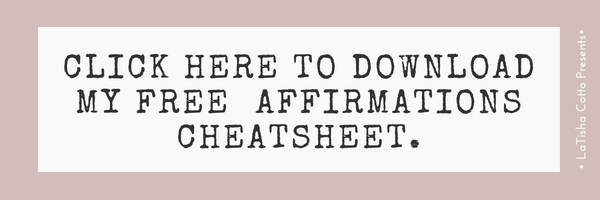 affirmations cheatsheet