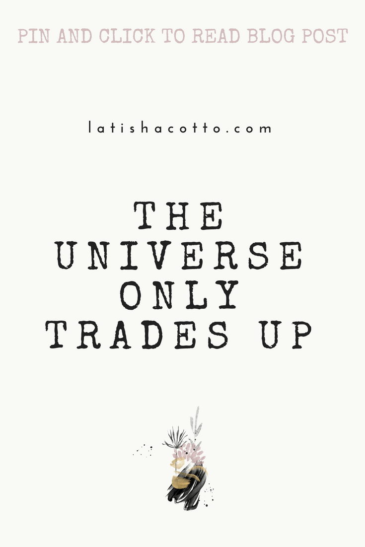 the universe only trades up
