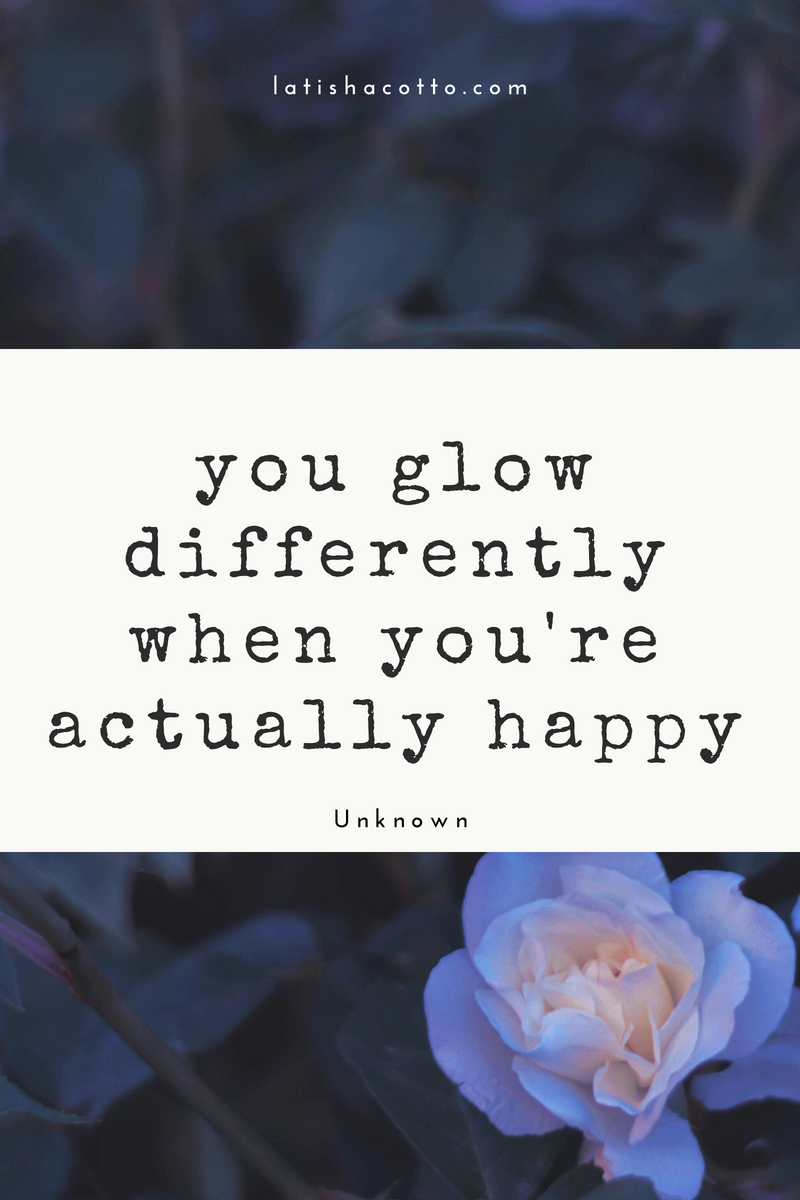 You Glow Differently Quote