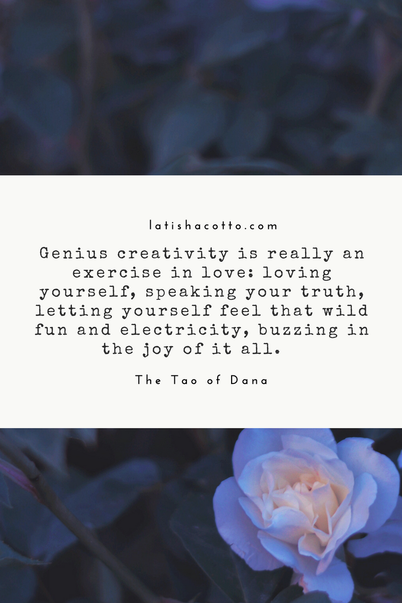 Genius Creativity is Really an Exercise in Love Quote