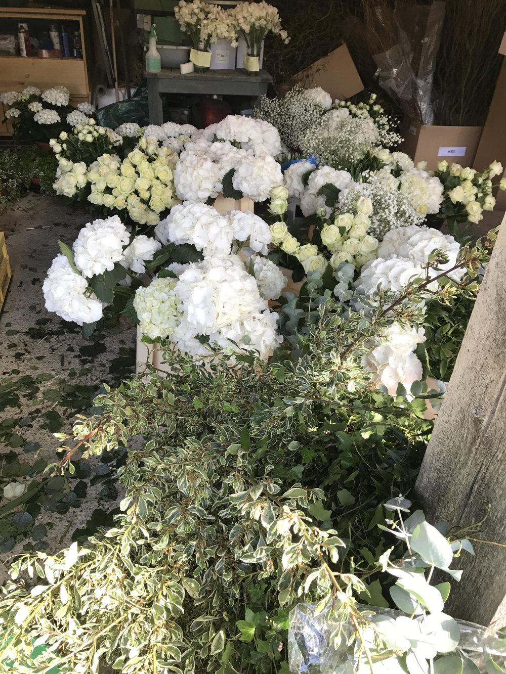 wedding flowers gloucester