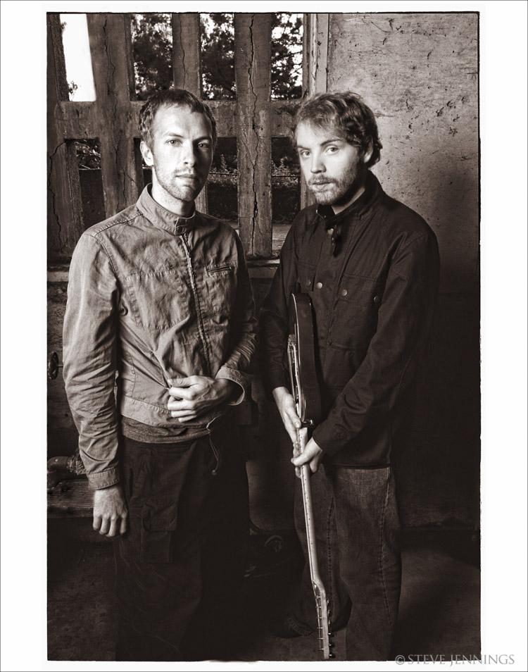 CHRIS MARTIN & JONNY BUCKLAND (COLDPLAY)