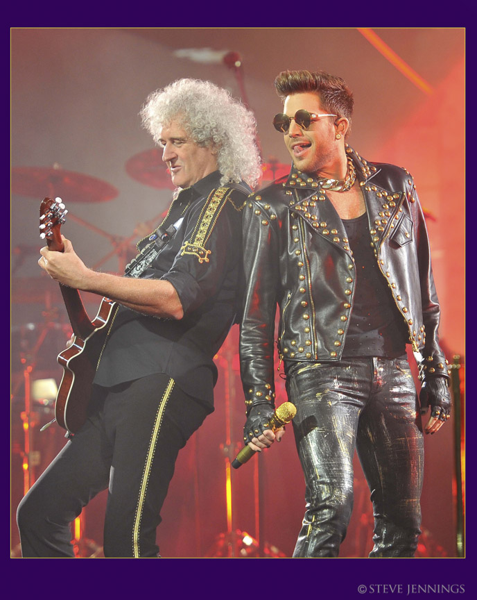 BRIAN MAY & ADAM LAMBERT (QUEEN)