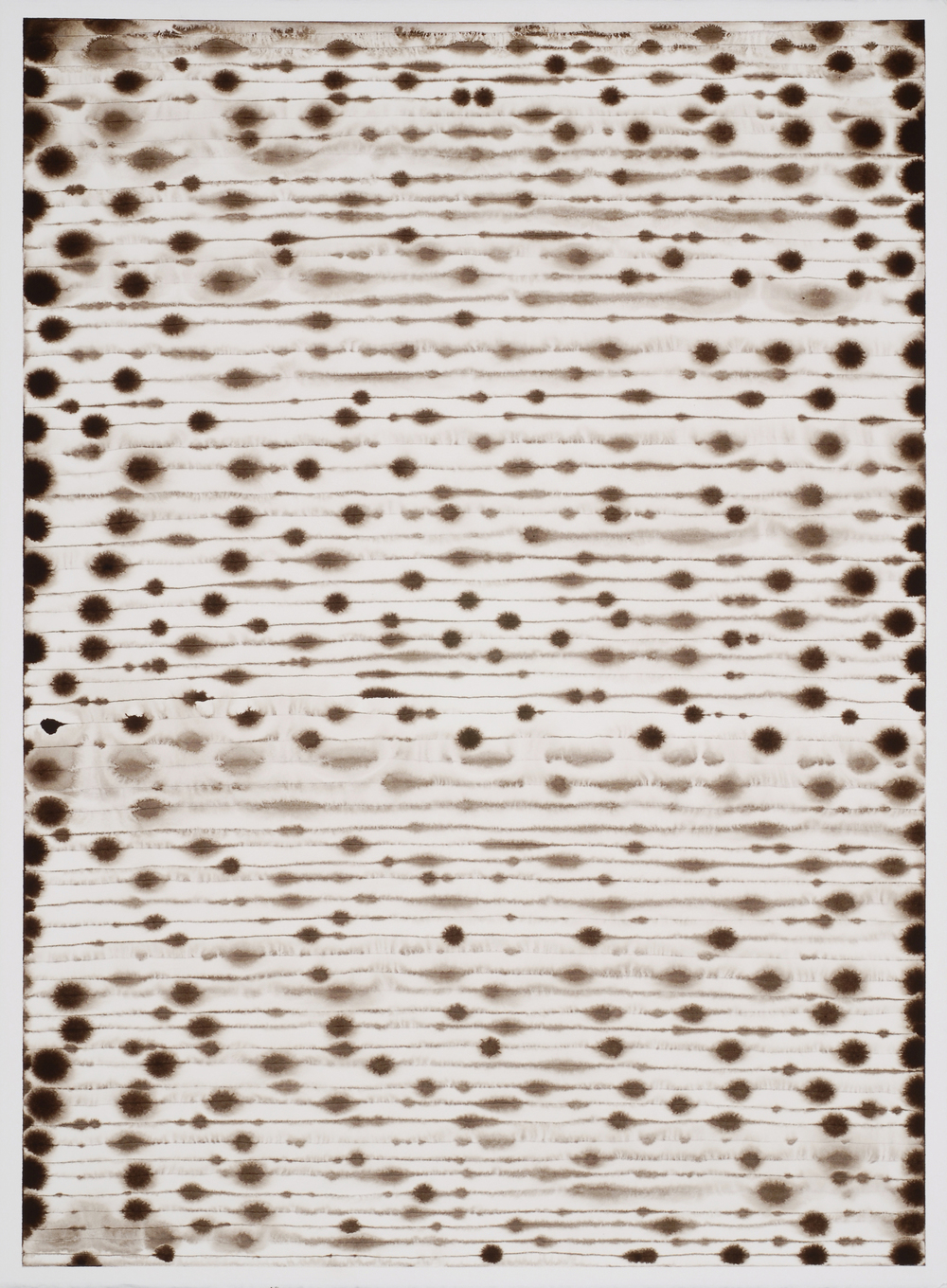 "07.27.11 (the groundless ground), 2011 | ink on Fabriano paper | 30"" x 22"""