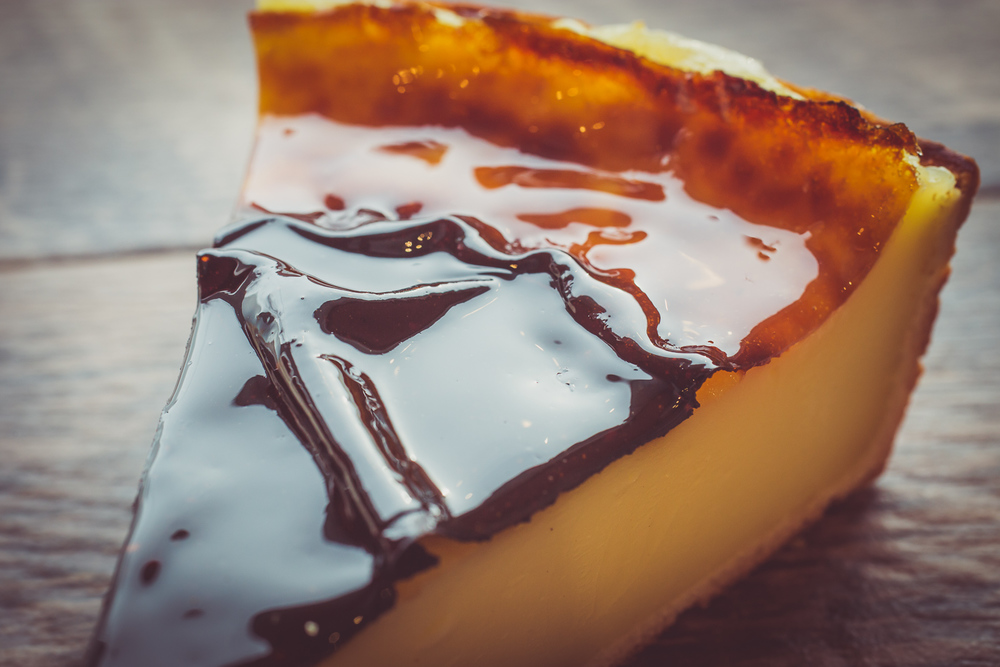 Parisian Custard Flan Slice