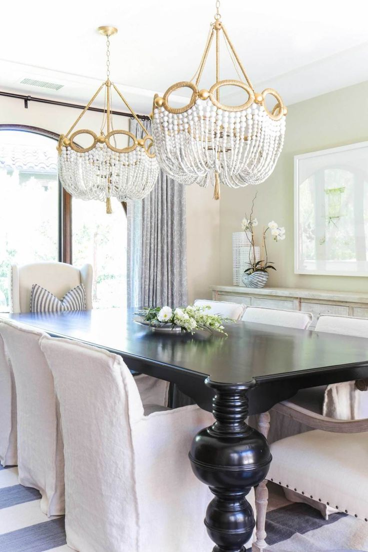 this amazing dining room from the Style Me Pretty Coastal/Spanish inspired home
