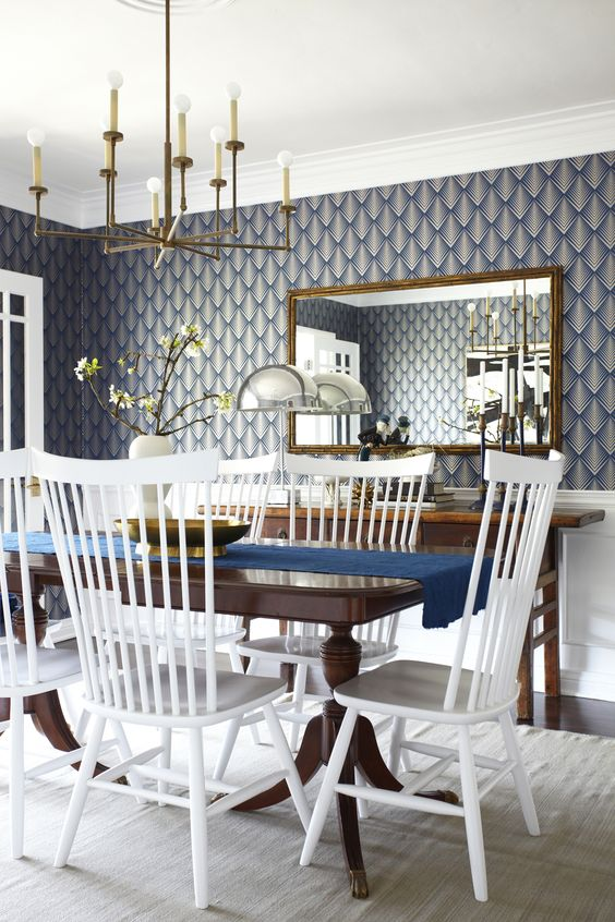 via Lorey's Dining Room via Emily Henderson