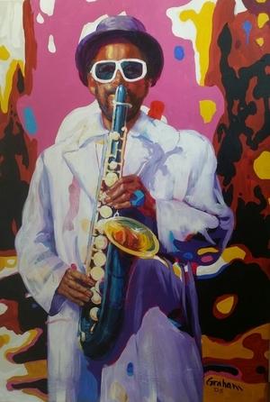 Jazzy Sax Man