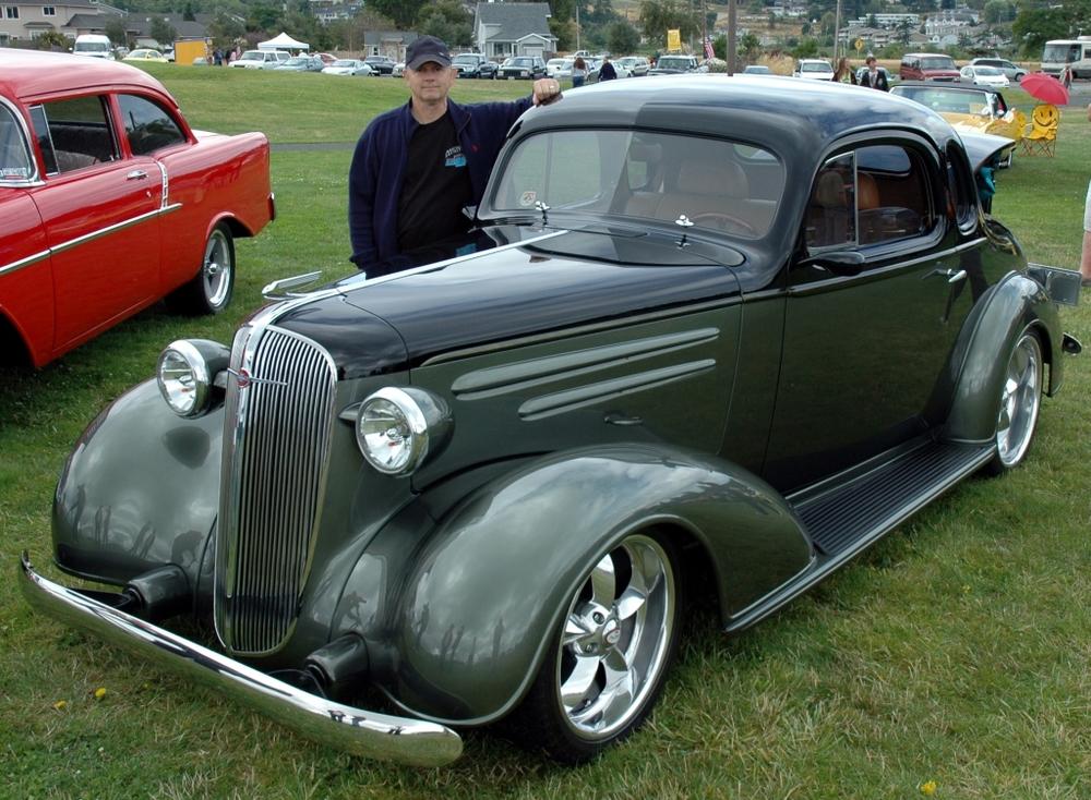 Forrie & Mollie McIntosh 1936 Chevrolet