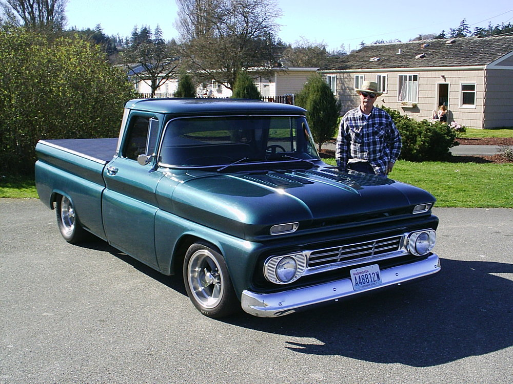 Don Berg 1962 Chevy PU