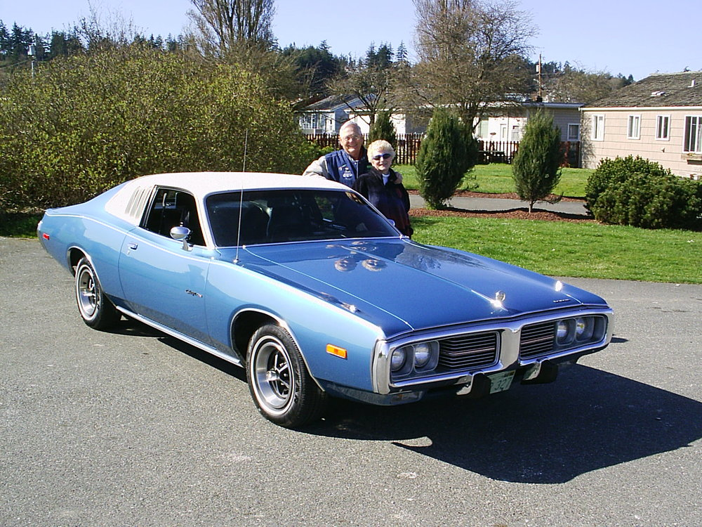 Chuck & Carol Stone 1974 Dodge Charger