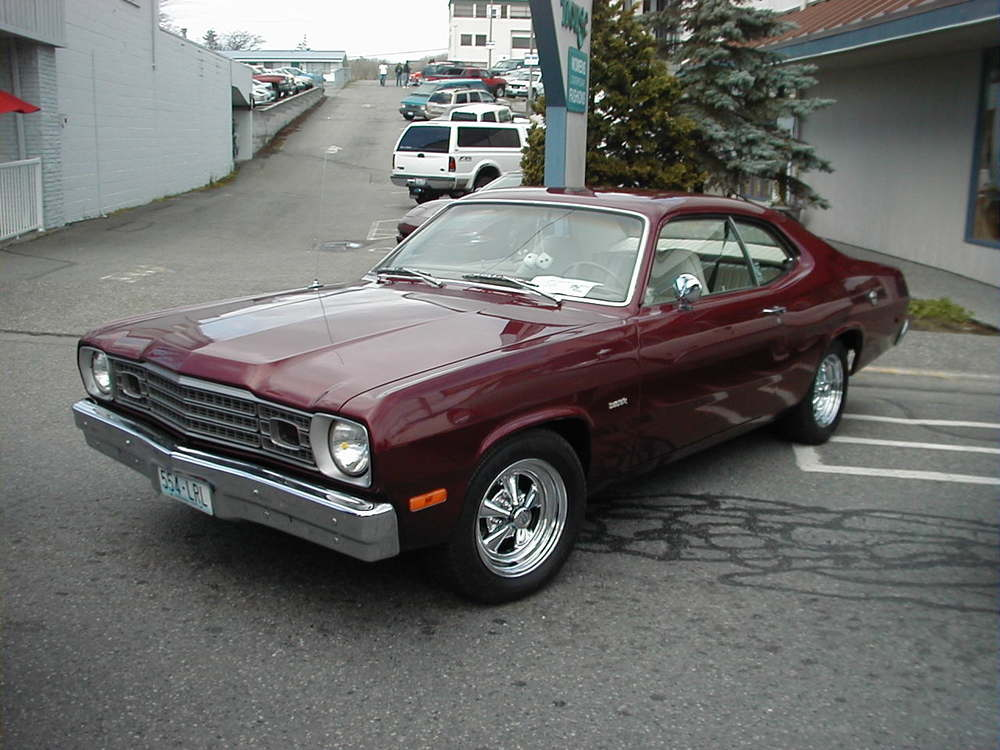 Fred & Mary Benninghoff 1973 Plymouth Duster