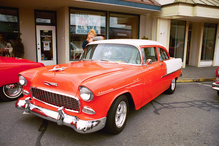 Archie & Lyla Lillis 55 Chevy Del Ray