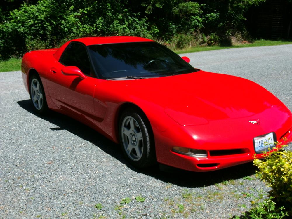 Barry & Kathy Rix 99 Chevy Corvette