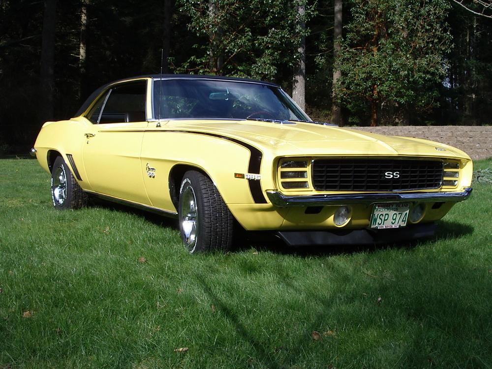 Steve Ellis 69 Chevy Camaro