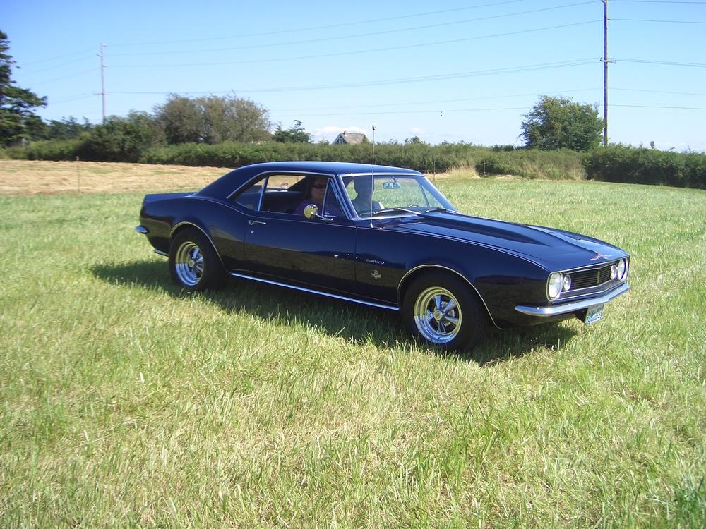 Steve McCalmont 67 Chevy Camaro