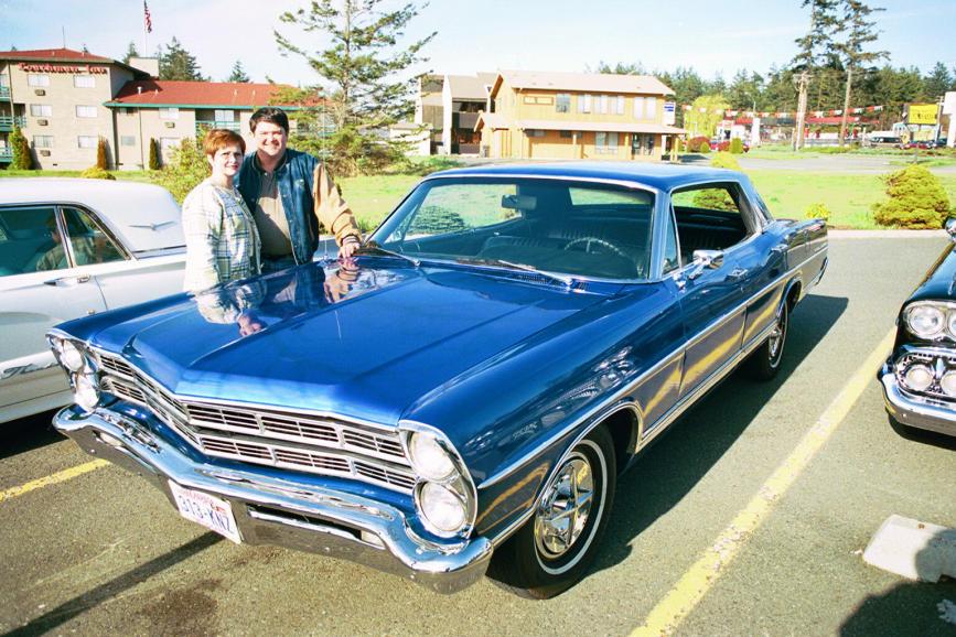 Bruce & Judy Biddle 67 Ford Galaxy