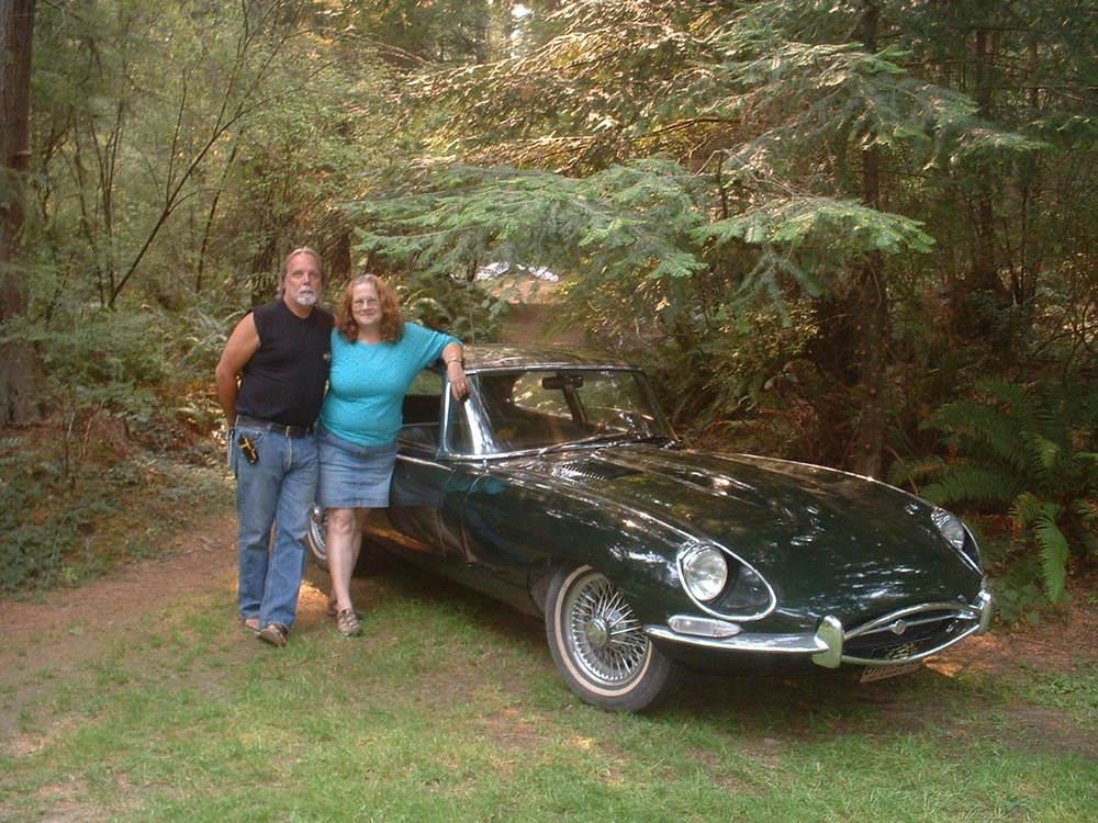 John & Kathy Hawkes 1968 Jaquar XKE2+2