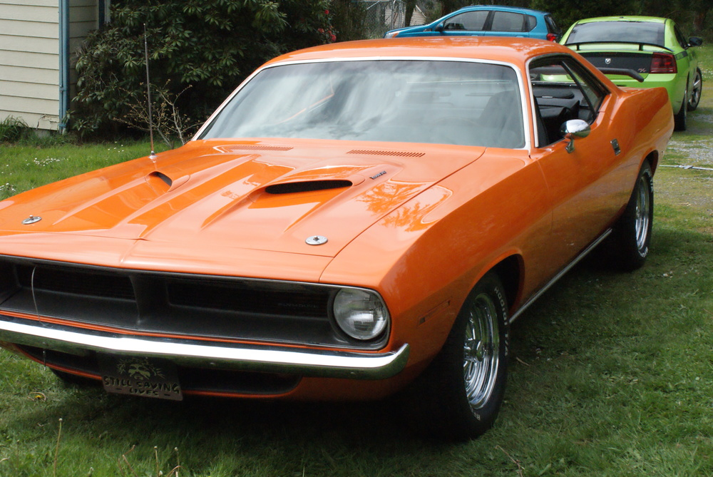 John Hawkes 1970 Plymouth Barracuda