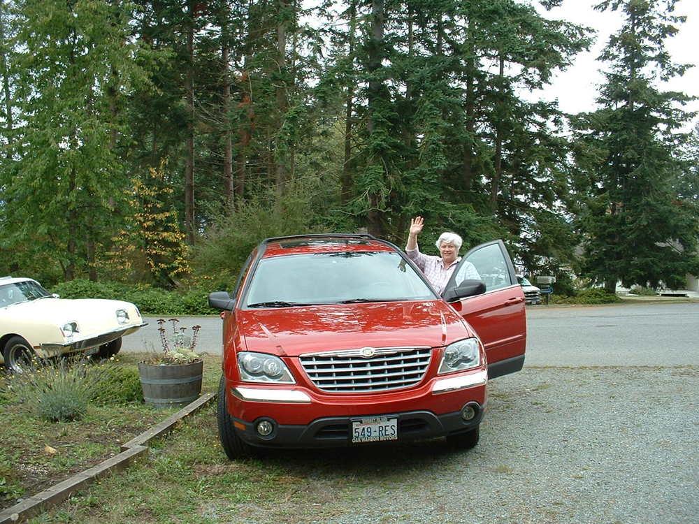 Ron & Virginia Teker 2004 Chrysler Pacifica