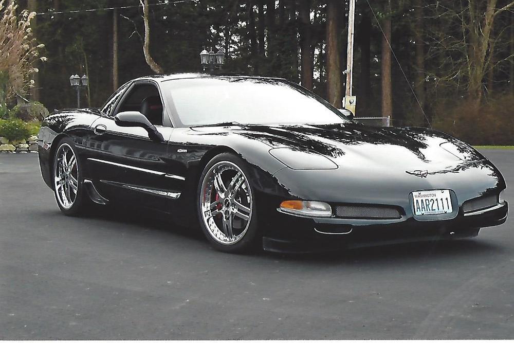 Lynn Holmes 2001 Chevy Corvette