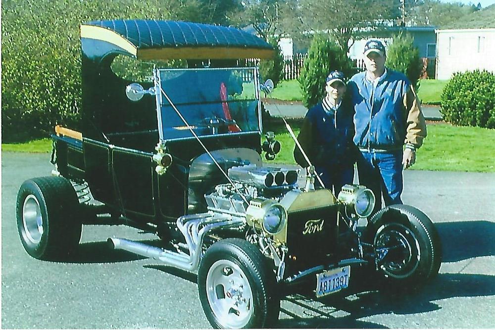 Lynn Holmes 1924 Ford T-Bucket