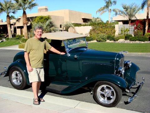 Bob & Diane Diens 1932 Ford Roadster