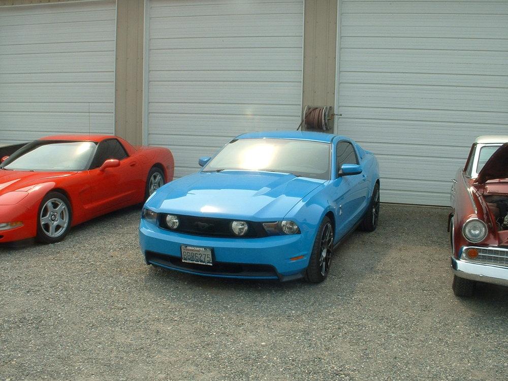 Jim & Carole Croft Ford Mustang