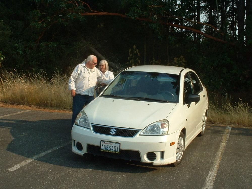 Fred & Mary Benninghoff 2005 Suzuki Aero