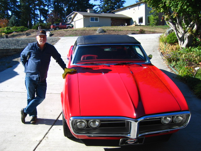 Ted McCann 1967 Pontiac Firebird