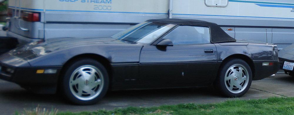 Ronald Macdonald 88 Chevy Corvette