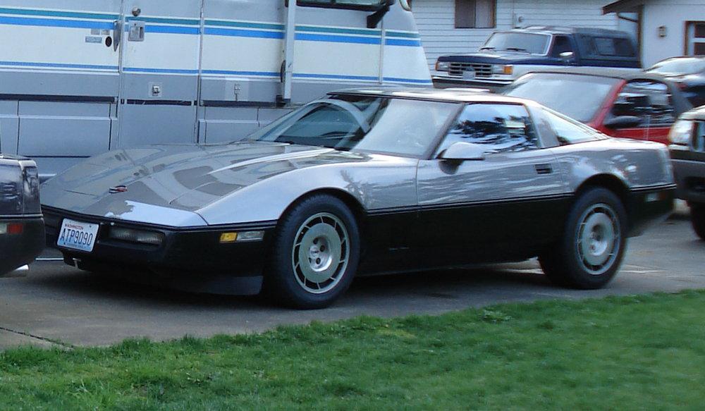 Ronald Macdonald 86 Chevy Corvette