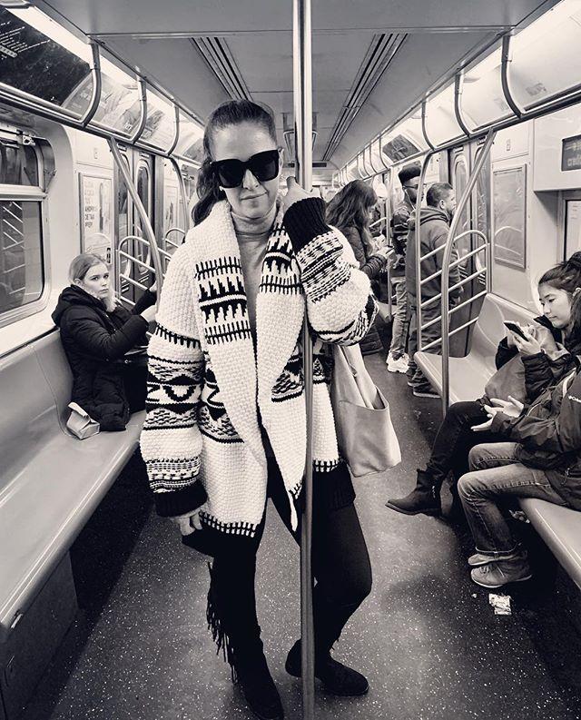 Dj on a train in NYC #NYC #djlora