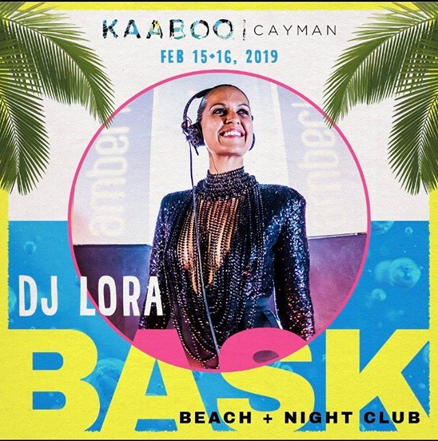 It's only a few days away!! @kaaboocayman #djlora #kaaboocayman catch me on the BASK stage sat 6-730pm