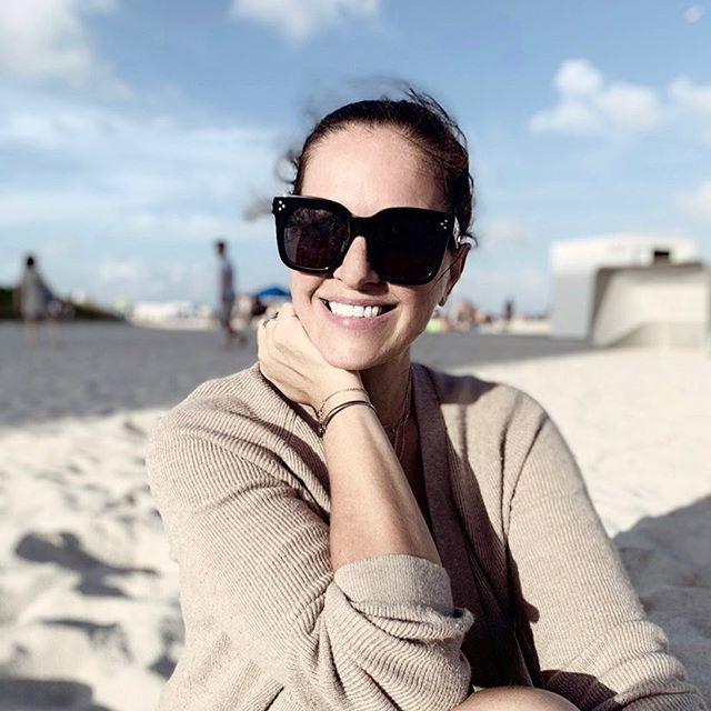 Happy dj in Miami #djlora #southbeach #miami