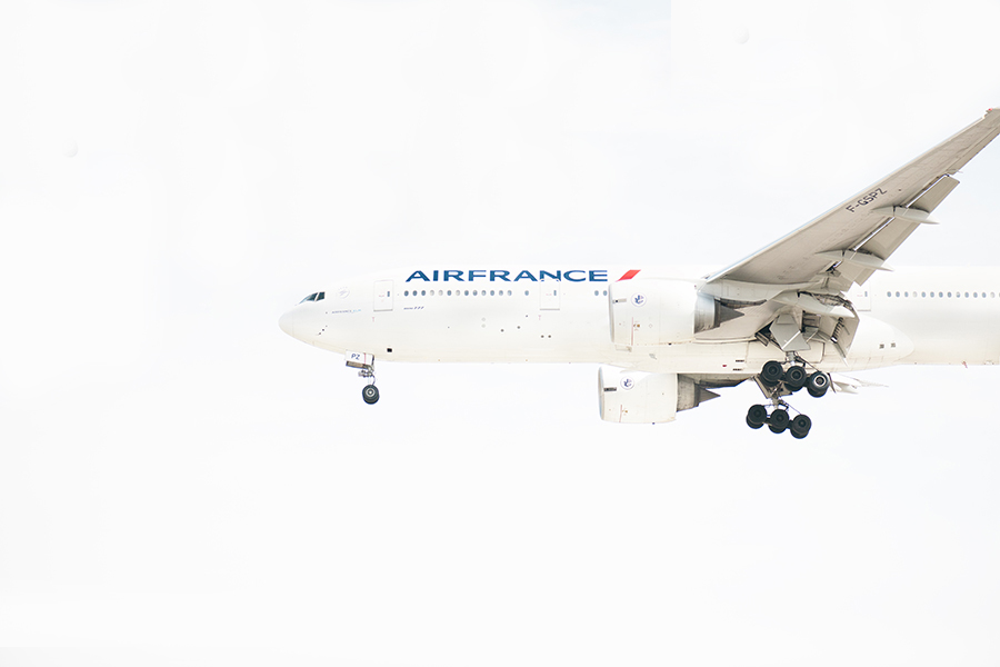 THe Laird Co Air France Boeing 777 white out nose aviation avgeek airplane airline photography for site.jpg