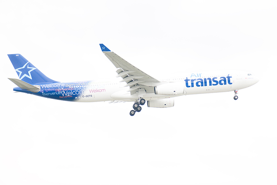 The Laird Co Air Transat A330 White OUt aviation avgeek airplane airline photography for site.jpg