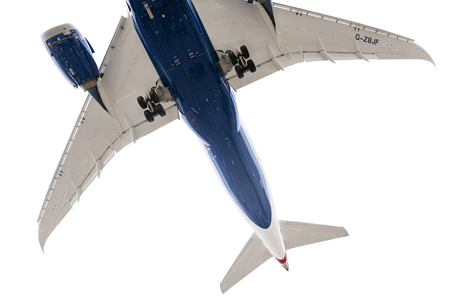 The Laird Co British Airways BA 787 wings tail white aviation avgeek airplane airline photography for site.jpg