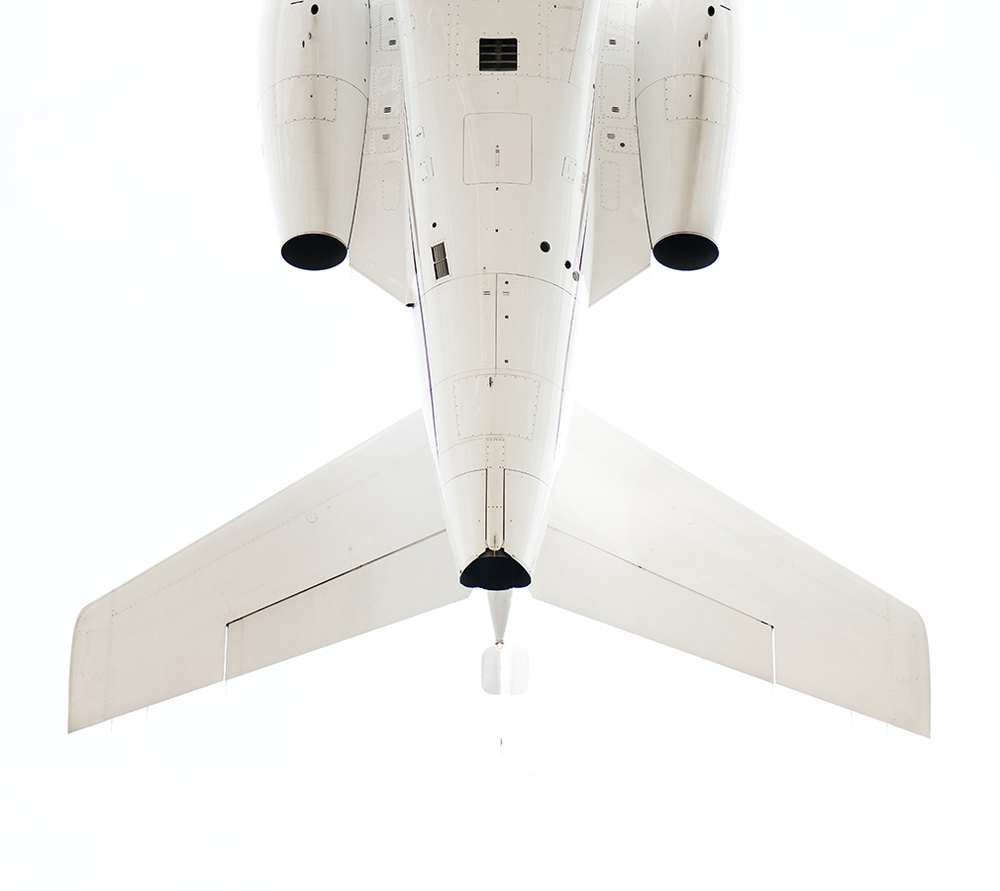 THe Laird Co Private Jet Tail white on white detail aviation avgeek airplane lux photography for site.jpg