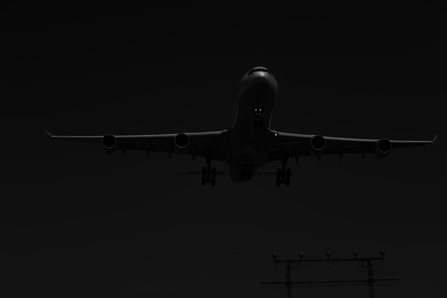 The Laird Co Lufthansa Black and white A343 Airbus Aviation Avgeek Airplane Airline photography for site.jpg