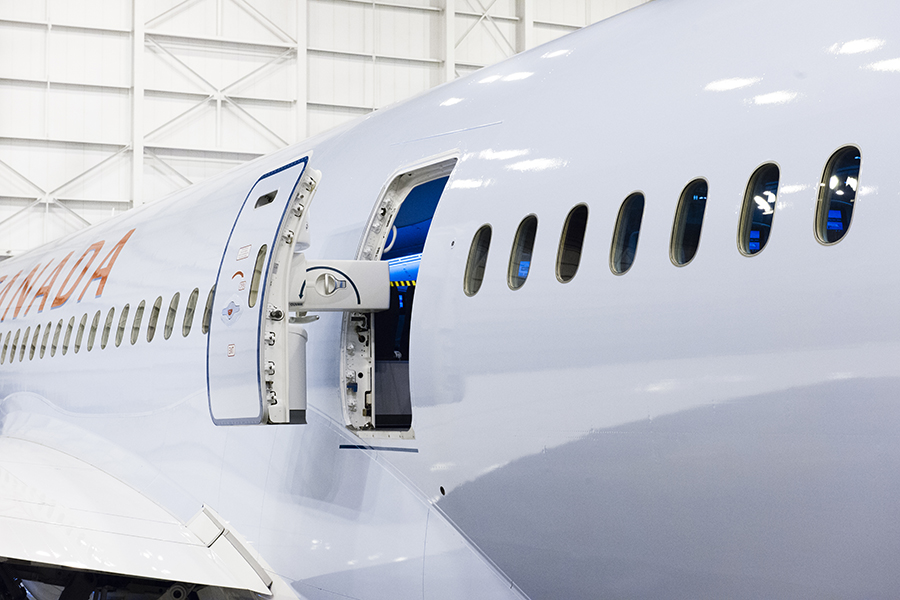 THe Laird Co Air Canada b787 back door open aviation avgeek airplane airline photography hangar for site.jpg