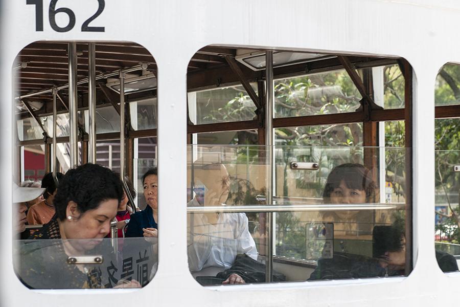 Hong Kong Tram Portrait No. 2