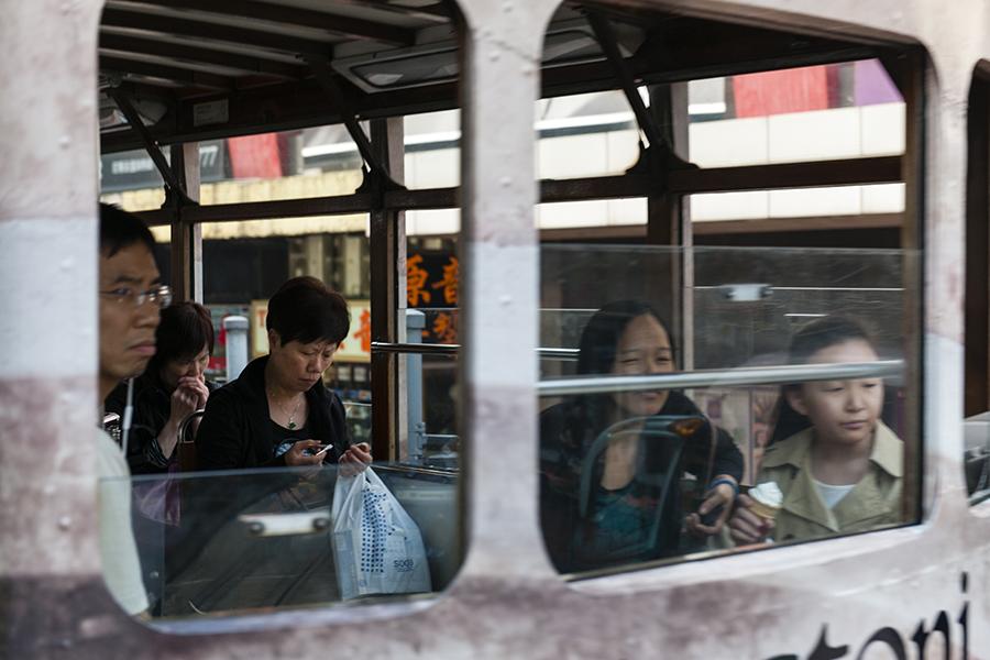 Hong Kong Tram Portrait No. 8