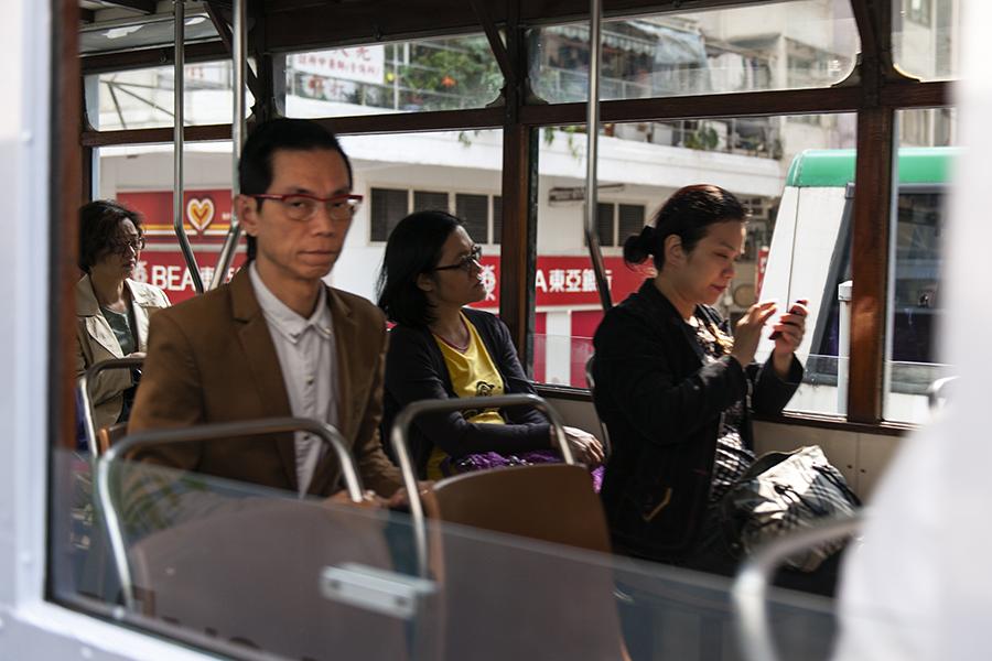 Hong Kong Tram Portrait No. 9
