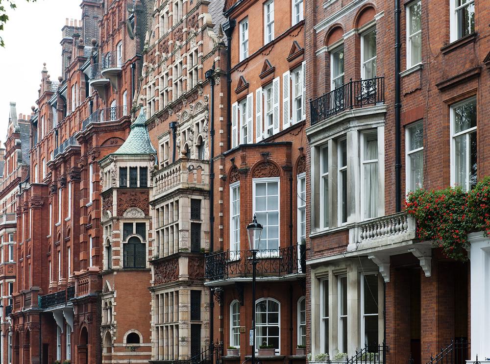 Facades of London No. 4