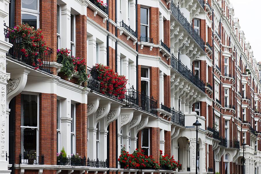 Facades of London No. 7