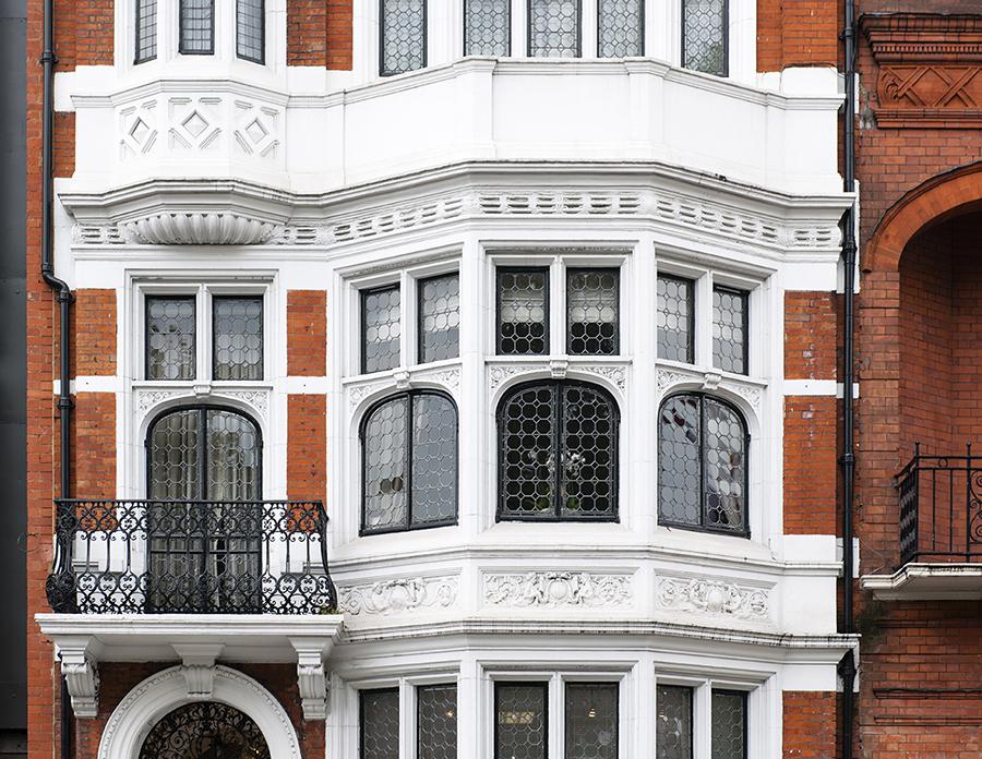 Facades of London No. 9